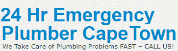 24 Hour Emergency Plumber Cape Town